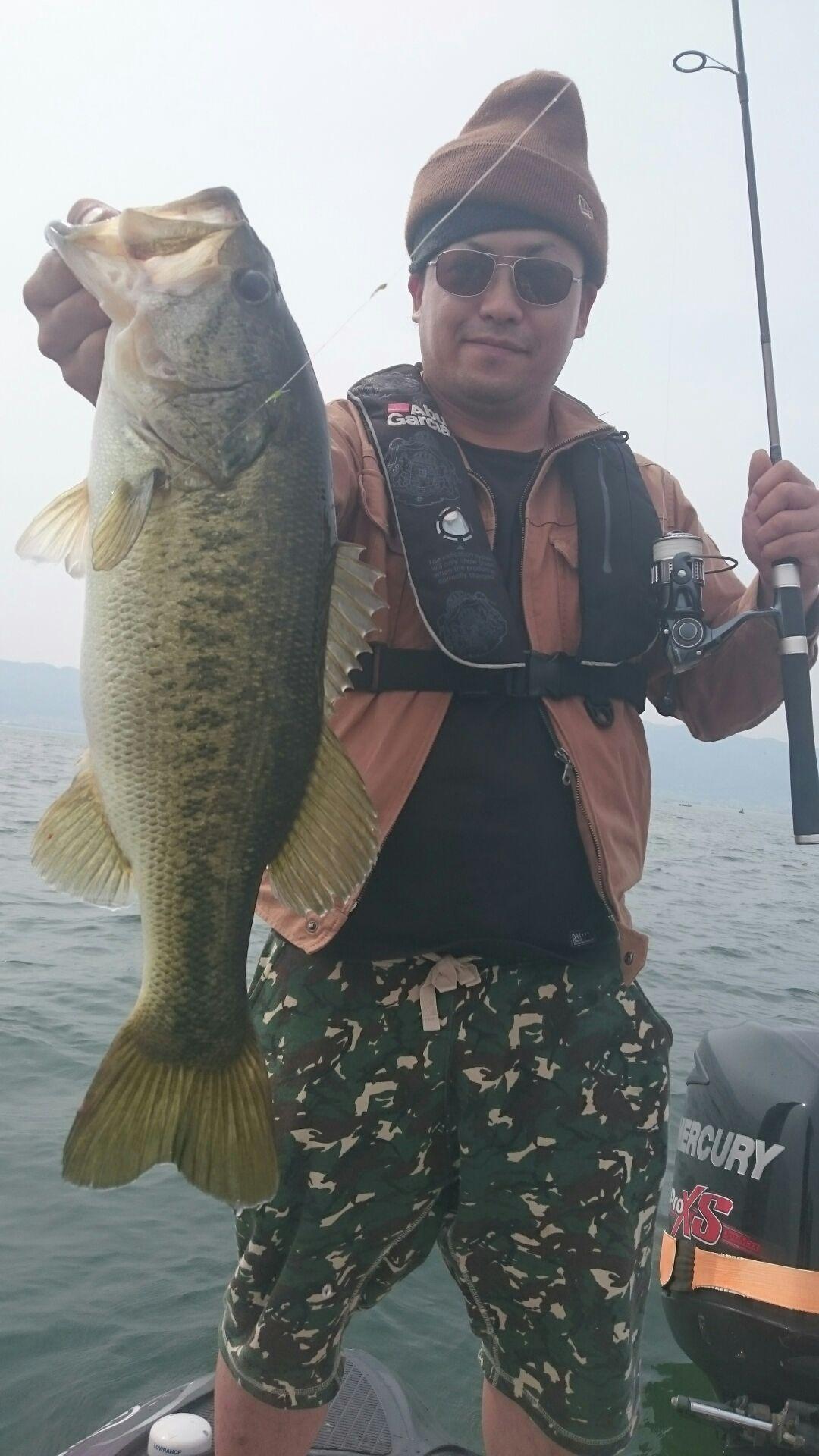 琵琶湖初日