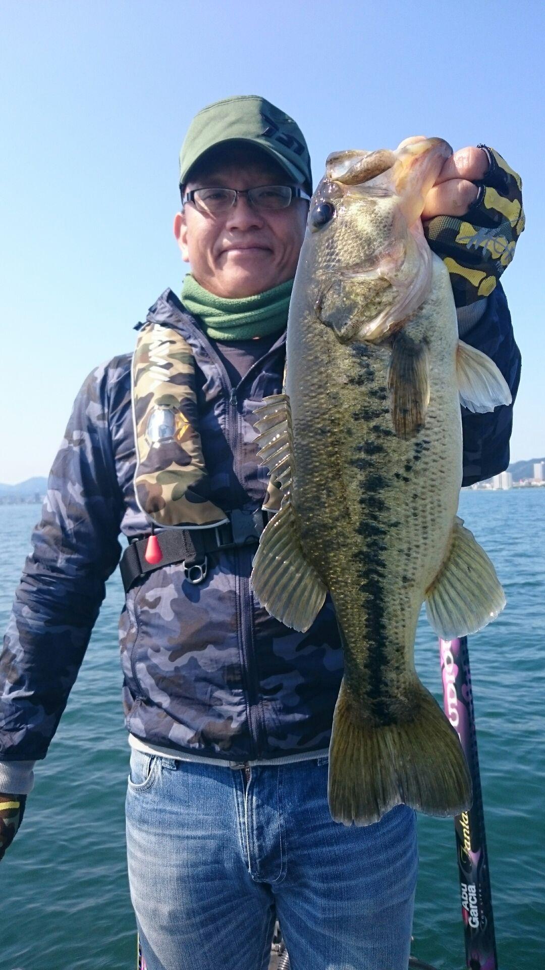 4月最後の琵琶湖